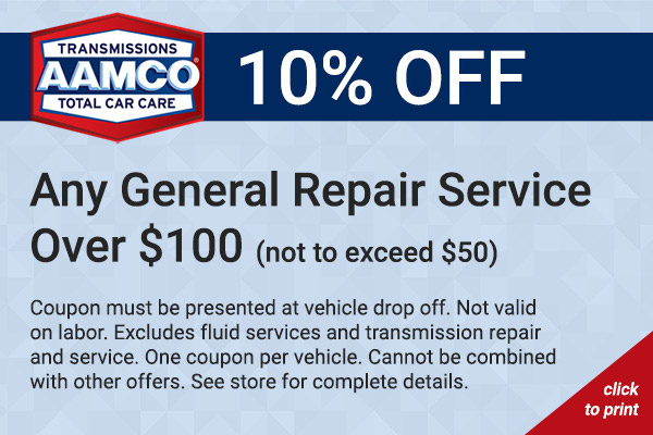 10% general repair coupon